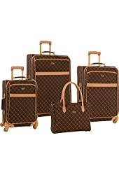 Travel Gear Signature 4 Piece Set Brown