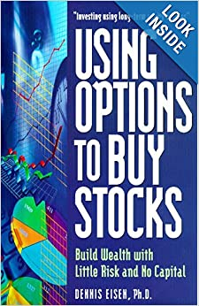 Buying stock using options