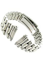16-22mm Men's Stainless Steel Classic Watchband Replacement
