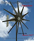 1600 Watt Missouri Raider Wind Turbine (black, 12 Volts)
