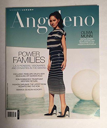 Olivia Munn February 2015 February Angeleno Magazine Mortdecai Johnny Depp PDF