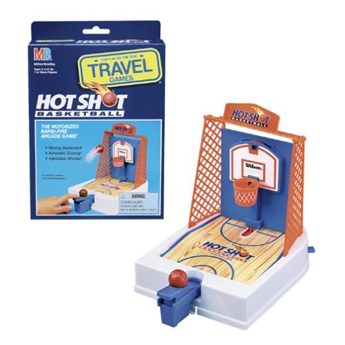 Travel Hot Shot Basketball Game by Milton Bradley by Hasbro