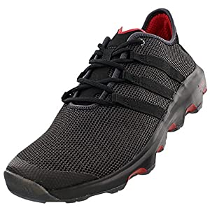 adidas Outdoor Climacool Voyager Boat Shoe - Men's Shadow Black/Black/Power Red 10