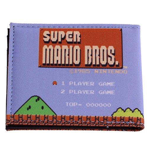 NES Super Mario Bros. Retro Bifold Wallet