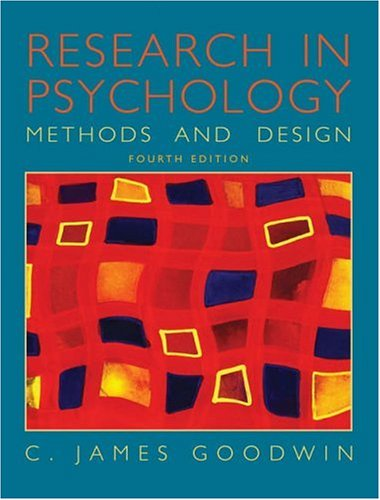 research design for psychology