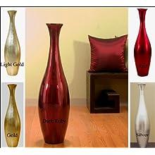 36 Inch Egret Floor Vase