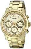 GUESS Womens U0330L1 Gold-Tone Multi-Function Watch