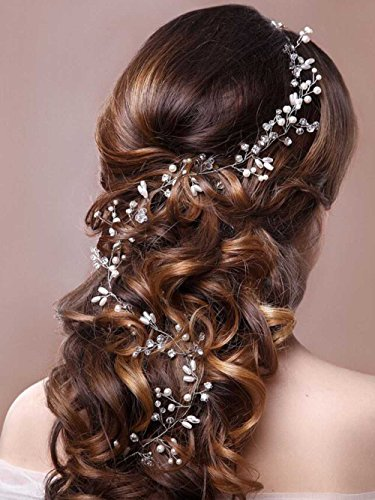 Venusvi Fashion Crystals Bridal Headband Wedding Headpiece