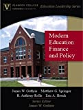 img - for Modern Education Finance and Policy (Peabody College Education Leadership Series) book / textbook / text book