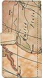 PLATA Xperia エクスペリア Z3 ( SOL26 SO-01G 401SO )用 ワールド ケース 世界地図 手帳型 XperiaZ3 エクスペリアZ3 【01】 DSO01G-53-01