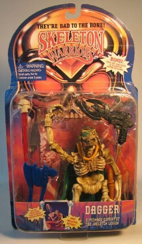 Dagger Skeleton Warriors Action Figure