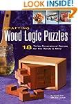Crafting Wood Logic Puzzles: 18 Three...