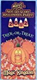 Collectible Guide Maps - Walt Disney World Resorts - Magic Kingdom - Special Events (Mickey's Not-So-Scary Halloween Party 2012)