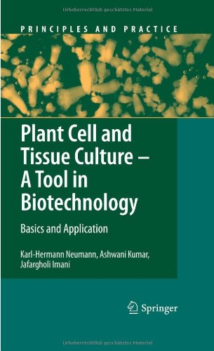 Plant Cell And Tissue Culture - A Tool In Biotechnology: Basics And Application (Principles And Practice)