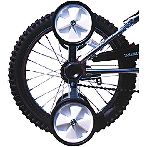 """Flip Up Training Bicycles Wheels Fits 12""""-20"""" Wheels Flip Up /Down Easily Black front-1002422"""