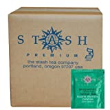 Stash Tea Peppermint Herbal Tea, 100 Count Box of Tea Bags in Foil