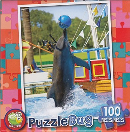 Puzzlebug 100 Piece Puzzle ~ Dolphin Show - 1