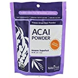 Freeze-Dried Acai Powder 4 oz (113 grams) Pkg by Navitas Naturals