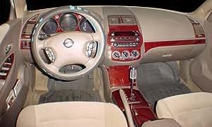 Nissan Altima Interior Burl Wood Dash Trim Kit Set 2002 2003 2004 Automotive