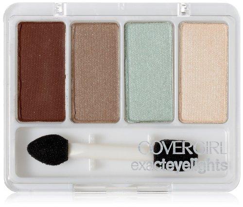 covergirl eyeshadow CoverGirl Exact Eyelights Eye Brightening Shadow, Majestic Hazels 715, 0.19 Ounce Pan