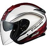 オージーケーカブト(OGK KABUTO) バイクヘルメット ジェット ASAGI CLEGANT クレガント パールホワイト XL(61-62cm)