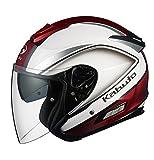 オージーケーカブト(OGK KABUTO) ヘルメットASAGI CLEGANT [クレガント] パールホワイト XL(61-62cm)