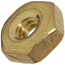 ASME B18.6.3 Plain Brass Machine Screw Hex Nut