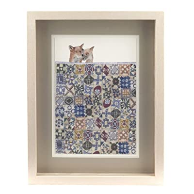 Quilt by Laura Vickers (Framed Print)||EVAEX