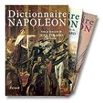 COFFRET DICTIONNAIRE NAPOL�ON  T1+2