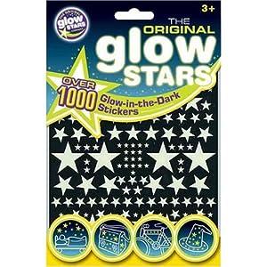 Brainstorm - The Original Glowstars - 1 000 étoiles phosphorescentes