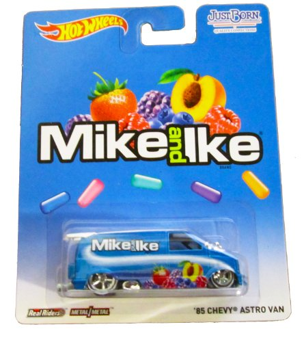 Hot Wheels - Real Riders - Mike and Ike - '85 Chevy Astro Van - 1