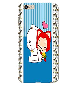 PrintDhaba Cartoon D-5811 Back Case Cover for APPLE IPHONE 6 PLUS (Multi-Coloured)