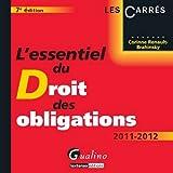 echange, troc Corinne Renault-Brahinsky - L'essentiel du Droit des Obligations
