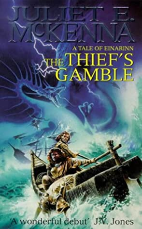 Cover of The Thief's Gamble by Juliet E. McKenna