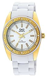 Q&Q Regular Analog White Dial Womens Watch - GQ13J001Y