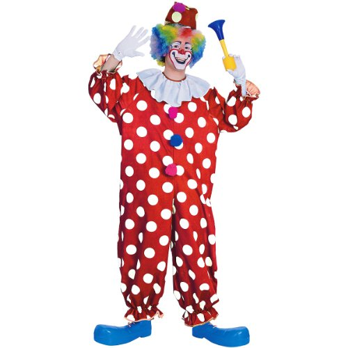 Dotted Clown Costume - Standard - Chest Size 40-44