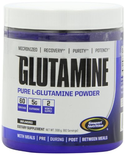 Gaspari Nutrition Glutamine 300 g Muscle Recovery Powder