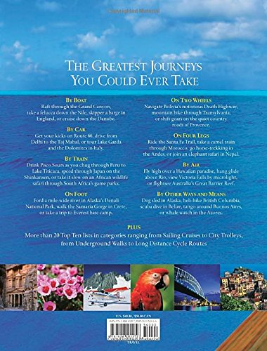 Journeys of a lifetime500 of the workd's greatest trips: 500 of the Word's Greatest Trips