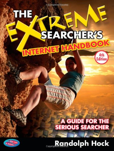 The Extreme Searcher'S Internet Handbook: A Guide For The Serious Searcher front-376416