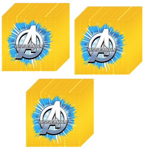 Avengers Assemble Beverage Napkins - 48 Pieces