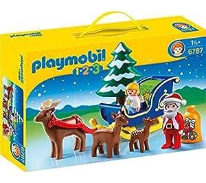 PLAYMOBIL 1.2.3 - Trineo de Papá Noel - 6787