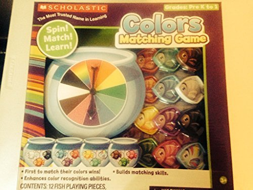 Scholastic Colors Matching Game