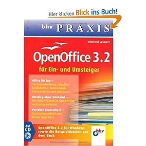 eBook Cover für  OpenOffice 3 2 f uuml r Ein und Umsteiger bhv PRAXIS