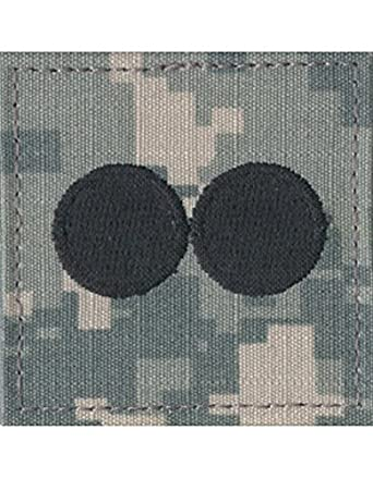 Army ROTC Rank with HOOK Fastener - ACU DIGITAL
