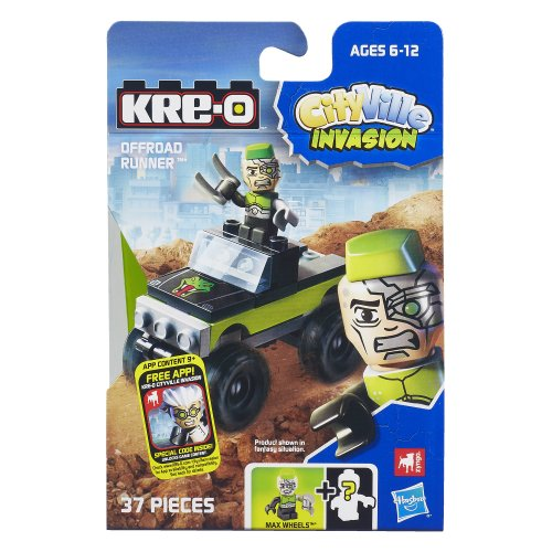 KRE-O CityVille Invasion Monster Megawheel Set (A4911)