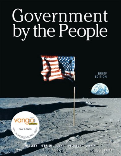 Government by the People, Brief Version Value Package (includes Federalist Papers)