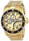 Invicta Men's 15343 Pro Diver Analog Display Japanese Quartz Gold Watch