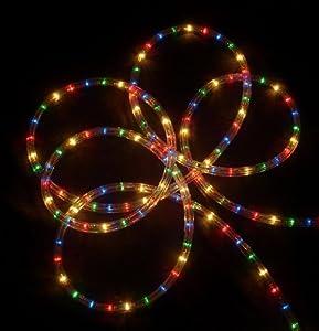 Amazon 27 Multi Color Indoor Outdoor Christmas Rope