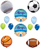 Its a Boy Baby Shower Sports Theme Balloon Decoration Kit