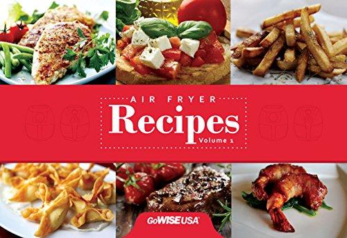GoWISE USA GW22621 4th Generation Electric Air Fryer, Black, 3.7 QT, 1400W + Recipe Book